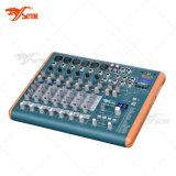 Smart-82 Mini Mixer, 8 Channels USB Audio Mixing Console
