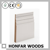 Decoration Material MDF with White Primed Skirting Board