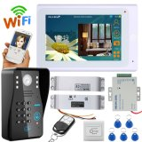 "7"" TFT Wired / Wireless WiFi IP Video Door Phone Intercom System with Electric Strike Lock"