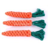 Dog Supply Cotton Rope Carrot Chew Toy, Pet Accessories