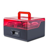 Acrylic Seal Box with Portable Handle and Number Locking