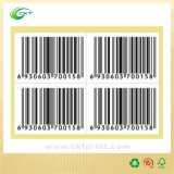 Clear Packaging Barcode Stickers Label (CKT-LA-398)
