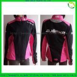 Custom Women′s Windproof Cycling Coat with Screen Printing Logo