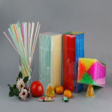 Pailles Assorted Colors Flexibles Straws, Pack of 250 Pieces