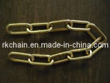 DIN 763 Link Chain, Mild Steel or Stainless Steel 304/316