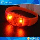 Silicone Sound Activated LED Bracelet/Light up Motion Activated LED Bracelet