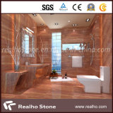 High Quality Red Travertine Marble Tile/Countertop