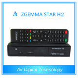 Combo Zgemma-Star H2 DVB-S2 with Hybrid DVB-C/T2 Tuner Satellite Receiver