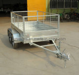 Hot DIP Gavanzied Box Trailer for Sale