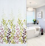 China Supply 100%Polyester Print Shower Curtain