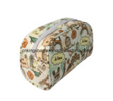 Polyester Coated with Full Prints Fashion Beauty Ladies Cosmetic Bags, Makeup Bags&Cases