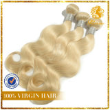 Top Quality Blonde Virgin Remy Human Hair 100% Russia Hair Body Wave Hair Extension