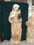 Mix Color Marble Sculpture Women Statue Figure Sculpture for Garden