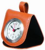 Leather Pocket Clock (KV708)