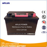 Hot Sale Model 57113mf Lead Acid Car Battery for Santana
