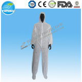 Low Price Comfortable Disposable PP Nonwoven Dustproof Coverall