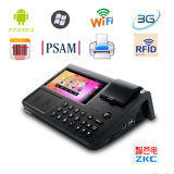 7 Inch Touch Screen Electronic Cash Register POS Tablet with Printer NFC/RFID Reader