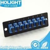 Sc Sm Fiber Optic Adaptor Panel Plate