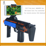 2017 Popular Toys Ar Game Gun Controller, Bluetooth Vr Gun Plastic for Mobile Phone with Game APP