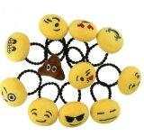 Cute Emoji Plush Hair Rope Hairband