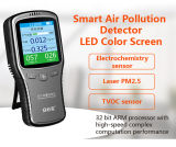 Handheld Multi Iaq Air Quality Monitor for Hcho /Tvoc /Pm2.5.10