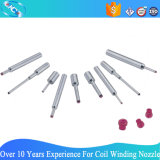 Customized Tungsten Carbide (Stainless Steel) Ruby Tipped Coil Winding Nozzle (RC0330-3-0607)
