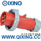 16A 400V European Standard Industrial Plug (QX282)