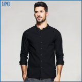 Comfortable Leisure Low Collar Cotton Shirt