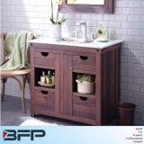 European Style Double Basin Bathroom Cabinet for Sale