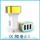 3USB Port Car Charger 6.8A Car Charger with Aluminum Ring