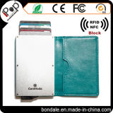 Hot Selling Card Sleeve with PU Leather Cover for Blocking RFID Scanning