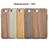 New Products Natural Wood Case Shockproof Flip Wooden Phone Case for iPhone7