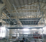 Safe Ce Qualified Mobile Scaffold Tower for Decoration.