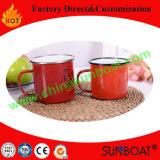 Customized Logo Printed Enamel Mug/Camping Mug/Tea Cup