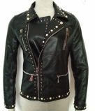 Leather Jacket for Lady, Fashion Clothing