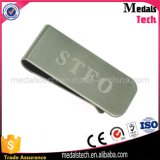 Promotional Stainless Steel Mirror Polished Custom Laser Engraved Money Clips