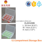 12 Compartment Storage Plastic Box