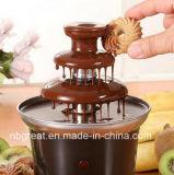 3 Layers Electronic Mini Household Chocolate Fondue Fountain
