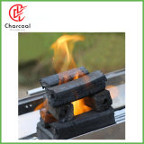 Hong Qiang Square Shape White Bamboo Barbecue with Charcoal