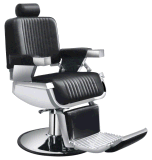 Adjustable PU Leather Barber Salon Chair, Modern Ergonomic Stool Padded Pneumatic Hairdresser