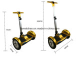 10 Inch Tt Electric Self-Balancing Scooter with Handle Bar