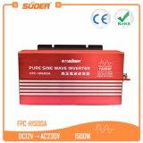Suoer High Frequency Inverter 12V 220V 1500W Sine Wave Inverter (FPC-H1500A)
