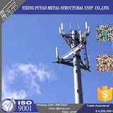 Galvanized Steel Telecom Monopole