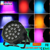 RGB LED PAR Light 18 PCS*3W LED Stage Lighting Factory Wholesale