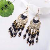 Fashion Jewelry Gold Plated Geometrical Shape Bohemian Style Dangle Earrings