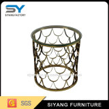 Home Furniture Modern Fancy Coffee Table Glass Side Table