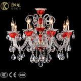 European Red Crystal Chandelier Light