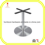 Furniture Hardware Parts Metal Table Leg with Round Base