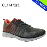 Best Price Women Sports Sneaker Shoes with Flyknit Mesh Upper