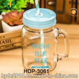 Wholesale Single Wall Glass Water Bottle with Handle (HDP-3061)